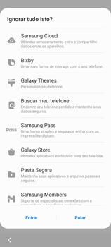 Como configurar pela primeira vez - Samsung Galaxy S21 Ultra 5G - Passo 17