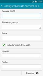 Como configurar seu celular para receber e enviar e-mails - Samsung Galaxy S5 - Passo 11