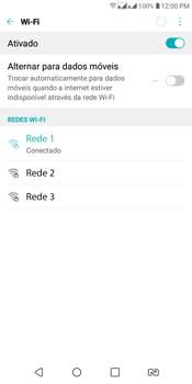 Como configurar uma rede Wi-Fi - LG K12+ - Passo 6
