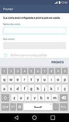 Como configurar seu celular para receber e enviar e-mails - LG K10 - Passo 8