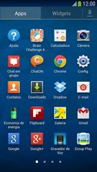 Como configurar seu celular para receber e enviar e-mails - Samsung Galaxy S IV - Passo 3