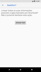 Como restaurar as configurações originais do seu aparelho - Google Pixel 2 - Passo 8