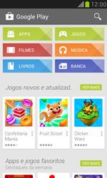 Como baixar aplicativos - Samsung Galaxy S III Mini - Passo 4