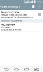 Como bloquear chamadas de um número específico - LG G2 Lite - Passo 12