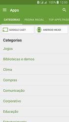 Como baixar aplicativos - Samsung Galaxy J5 - Passo 6