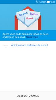 Como configurar seu celular para receber e enviar e-mails - Asus Zenfone Selfie - Passo 6