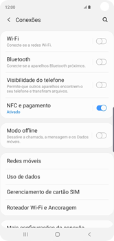 Como configurar a internet do seu aparelho (APN) - Samsung Galaxy S10 - Passo 4