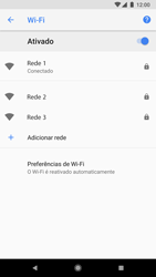 Como configurar uma rede Wi-Fi - Google Pixel 2 - Passo 8
