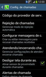 Como bloquear chamadas de um número específico - Samsung Galaxy Core Plus - Passo 6