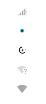 Explicação dos ícones - Motorola Edge - Passo 3
