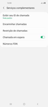 O celular não recebe chamadas - Samsung Galaxy A21s - Passo 17