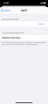 Como configurar seu celular para receber e enviar e-mails - Apple iPhone X - Passo 20