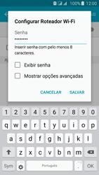 Como usar seu aparelho como um roteador de rede Wi-Fi - Samsung Galaxy J5 - Passo 8