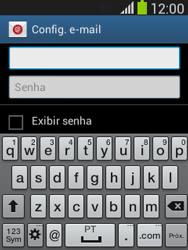 Como configurar seu celular para receber e enviar e-mails - Samsung Galaxy Pocket - Passo 6