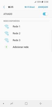Como configurar uma rede Wi-Fi - Samsung Galaxy S9 - Passo 6