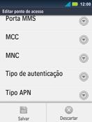 Como configurar a internet do seu aparelho (APN) - Motorola Master - Passo 14