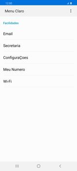 Como conectar à internet - Samsung Galaxy S20 Plus 5G - Passo 17