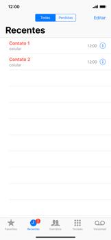 Como bloquear chamadas de um número específico - Apple iPhone XR - Passo 4