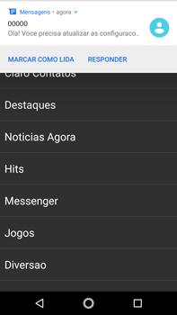 Como conectar à internet - Motorola Moto G5s Plus - Passo 16