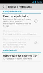 Como restaurar as configurações originais do seu aparelho - Huawei Y340 - Passo 6