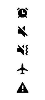 Explicação dos ícones - Samsung Galaxy Note 20 5G - Passo 21