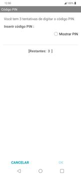 Como melhorar a velocidade da internet móvel - LG K40S - Passo 14