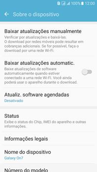 Como atualizar o software do seu aparelho - Samsung Galaxy On 7 - Passo 5