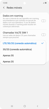 O celular não recebe chamadas - Samsung Galaxy A51 - Passo 8