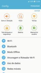 Como ativar e desativar uma rede de dados - Samsung Galaxy S7 - Passo 3
