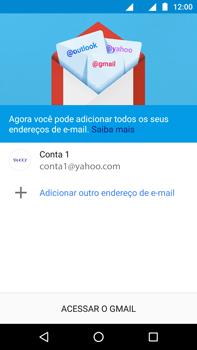 Como configurar seu celular para receber e enviar e-mails - Motorola Moto Z2 Play - Passo 13