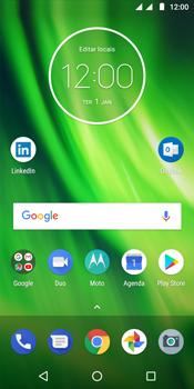Como encontrar o número de IMEI do seu aparelho - Motorola Moto G6 Play - Passo 1