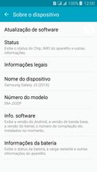Como encontrar o número de IMEI do seu aparelho - Samsung Galaxy J3 Duos - Passo 4