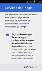 Como configurar seu celular para receber e enviar e-mails - Samsung Galaxy J1 - Passo 15