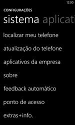 Como restaurar as configurações originais do seu aparelho - Nokia Lumia 1020 - Passo 4