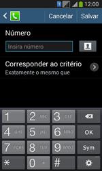 Como bloquear chamadas de um número específico - Samsung Galaxy Core Plus - Passo 9
