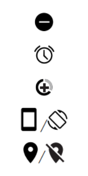 Explicação dos ícones - Motorola Moto G6 Plus - Passo 8