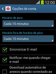 Como configurar seu celular para receber e enviar e-mails - Samsung Galaxy Pocket - Passo 19