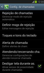 Como bloquear chamadas de um número específico - Samsung Galaxy S III Mini - Passo 6