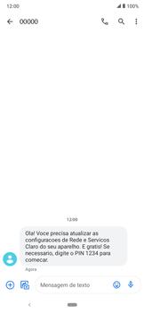 Como conectar à internet - Motorola Moto E6 Plus - Passo 19