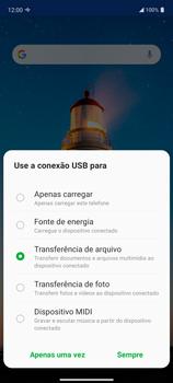 Transferir dados do telefone para o computador (Windows) - LG K62+ - Passo 4