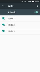 Como configurar uma rede Wi-Fi - Lenovo Vibe C2 - Passo 5