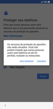 Como configurar pela primeira vez - Samsung Galaxy S9 - Passo 15