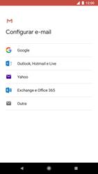 Como configurar seu celular para receber e enviar e-mails - Google Pixel 2 - Passo 7