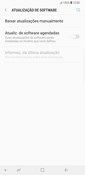 Como atualizar o software do seu aparelho - Samsung Galaxy S9 Plus - Passo 5