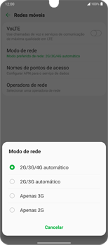 O celular não faz chamadas - LG Velvet 5G - Passo 8