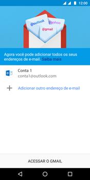 Como configurar seu celular para receber e enviar e-mails - Motorola Moto G6 Plus - Passo 12