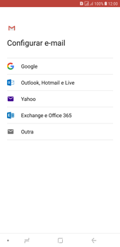 Como configurar seu celular para receber e enviar e-mails - Samsung Galaxy J4+ - Passo 8