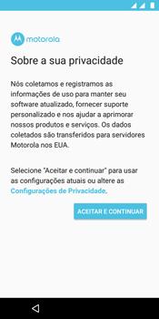 Como configurar pela primeira vez - Motorola Moto E5 - Passo 11
