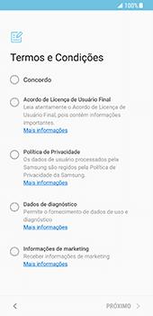 Como ativar seu aparelho - Samsung Galaxy S8 - Passo 5