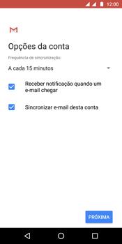 Como configurar seu celular para receber e enviar e-mails - Motorola Moto G6 Plus - Passo 19